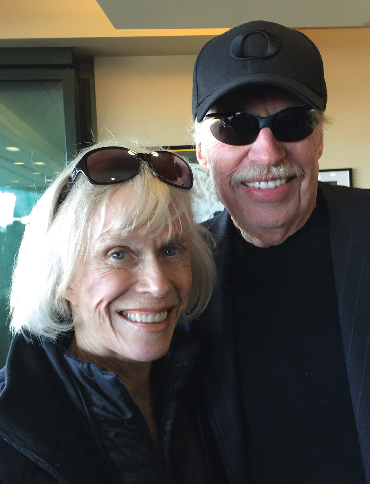 Phil Knight and Lynn Frohnmayer