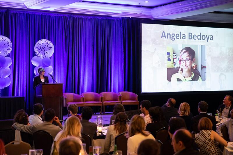 Angela at Symposium