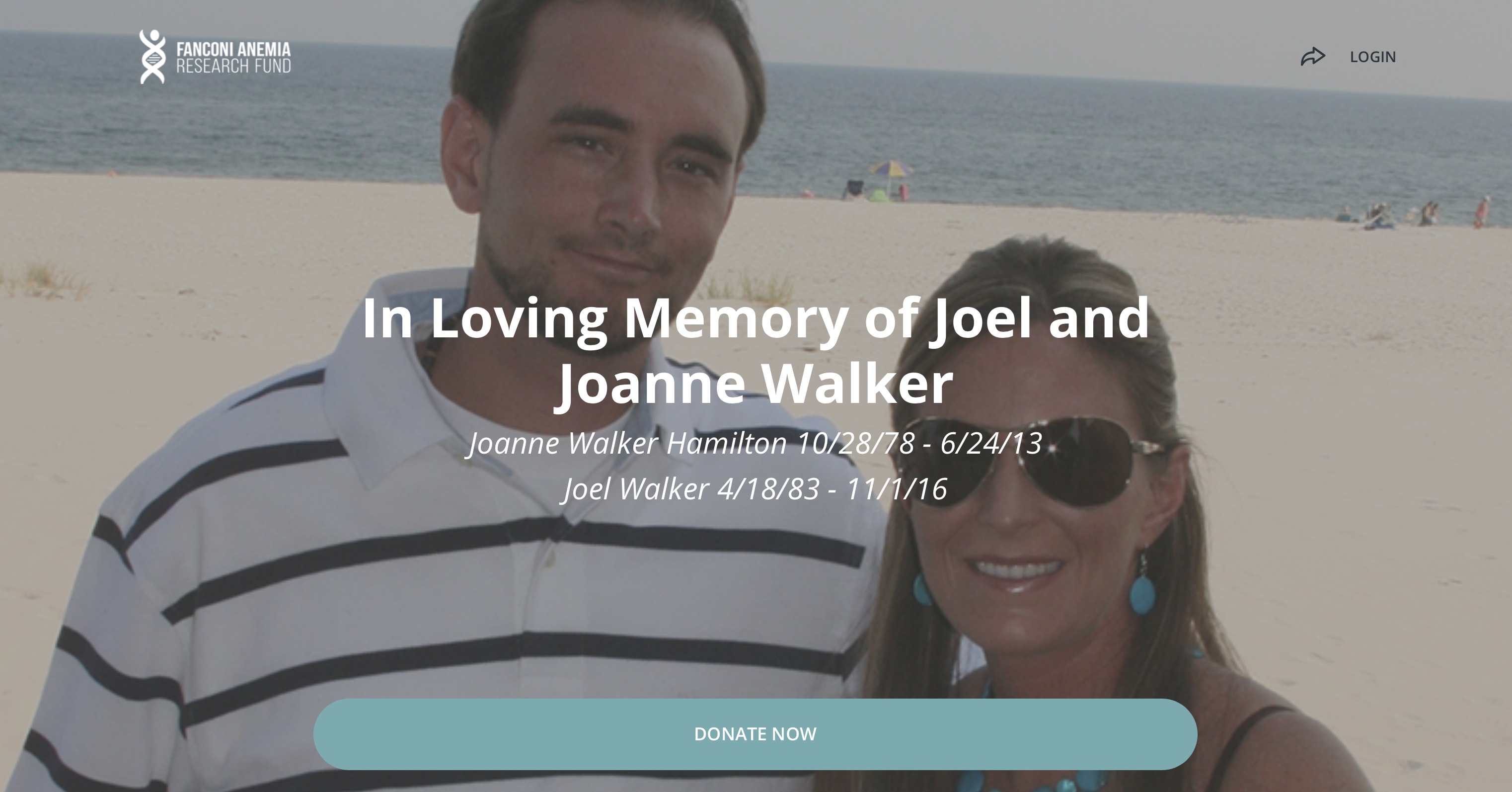 Joel and Joanne Walker