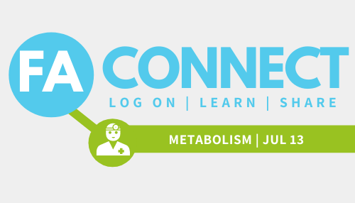 FA Connect: Nutrition & Metabolism in FA - Tracing nutrients from consumption to energy production