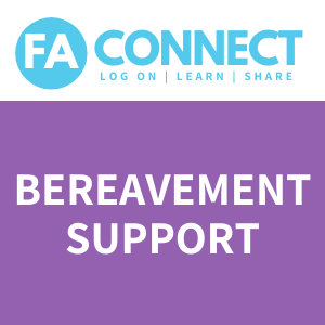 FA Connect: Bereavement Support for FA Parents & Caregivers