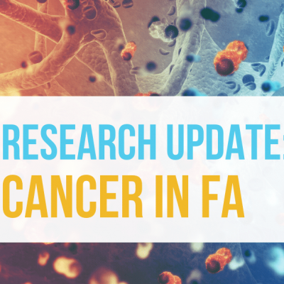 Research Update: Cancer in FA