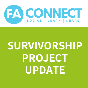 FA Connect: Taking Charge of your Survivorship