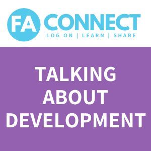FA Connect: Talking About Development